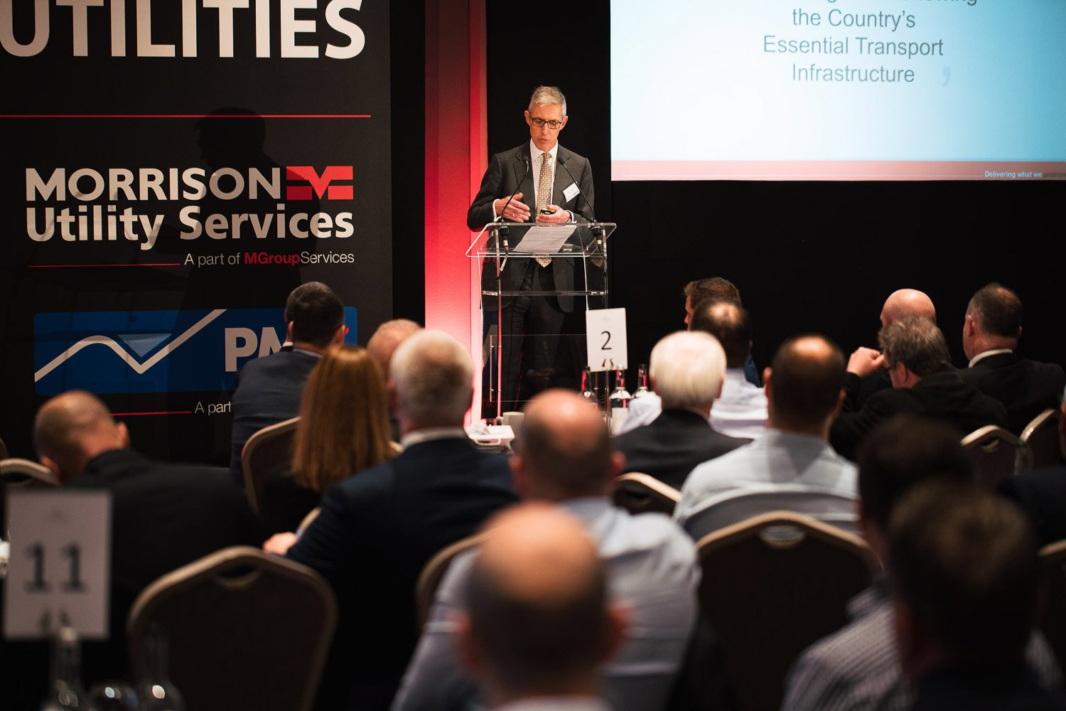 Morrison Group Services Senior Managers Conference 2018 Neve Studios Case Study 34