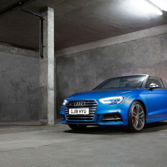 Audi S3 2019 Audi Cars UK Neve Studios Hampshire 1