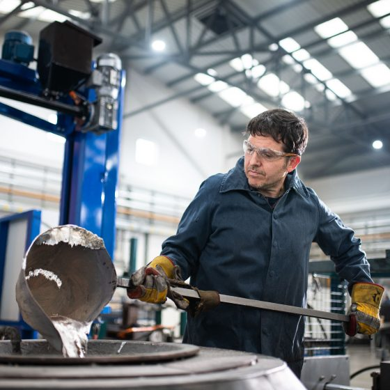Robotics and Industrial Photography Agency in Hampshire MRT Castings 68