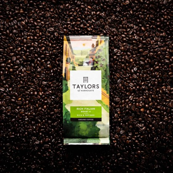 Taylors of Harrogate Coffee Product Photography Neve Studios 1
